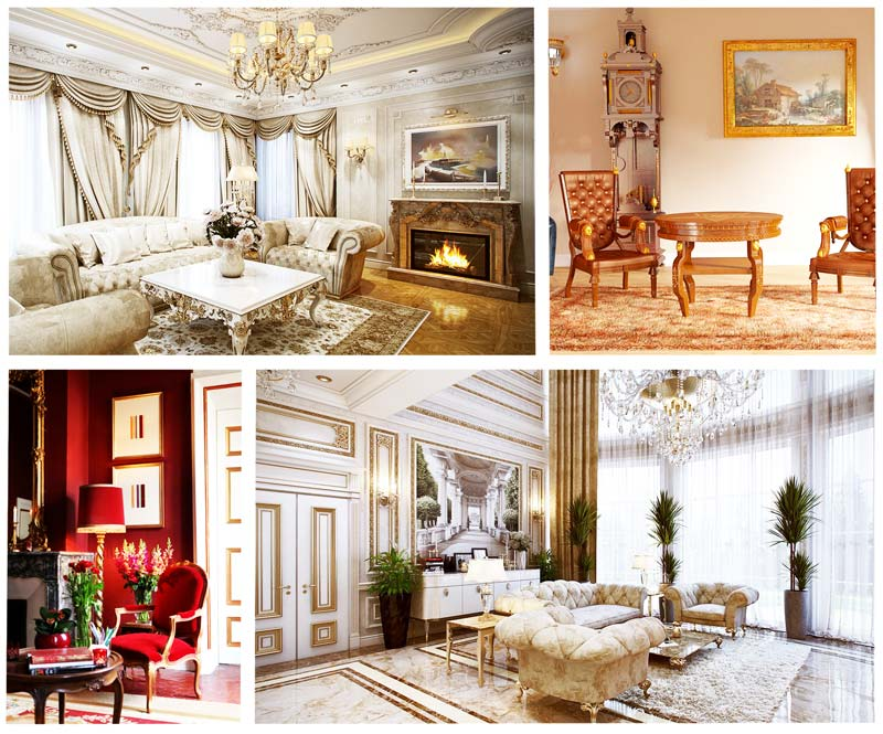 empire french interior klassika